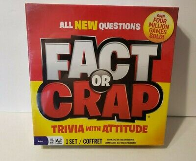 MATTER OF FACT Trivia Challenge sealed Board Game - $14 33