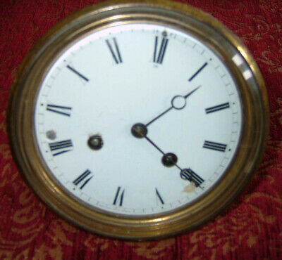 Vincenti & Cie french clock movement in working order