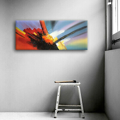 Framed Modern Abstract Oil Painting On Canvas Hand Painted Wall Art Home Decor