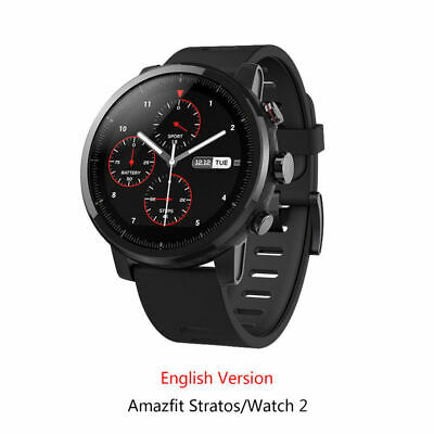 New Xiaomi Huami Amazfit Stratos Pace 2 Smart Watch with GPS English Version