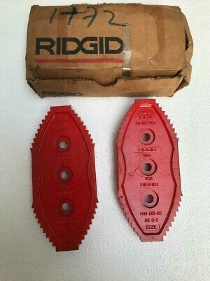 Ridgid 93060 Set Of Jaws For 3233 Chain Tong -Free Shipping-