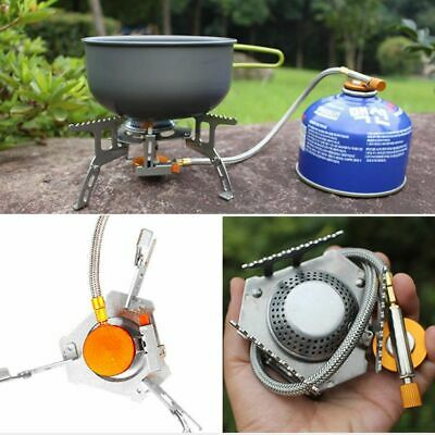 Portable Outdoor Camping Hiking Gas Stove Folding Cooking Burner