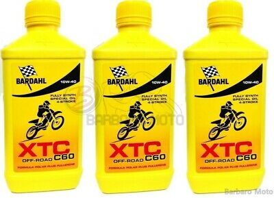 3 Litri Olio Motore Nils 4T Off Road 100% Sintetico Sae 10W40 Racing Competition