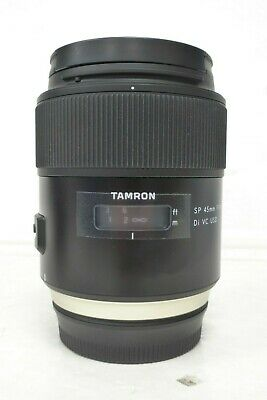 Tamron 45mm F1.8 Di SP VC USD Prime lens for Canon DSLRs - Boxed