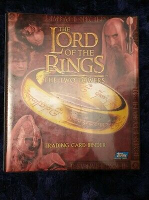 Lord of the Rings Two Towers Trasing Cards (Complete Set w/ booster box)