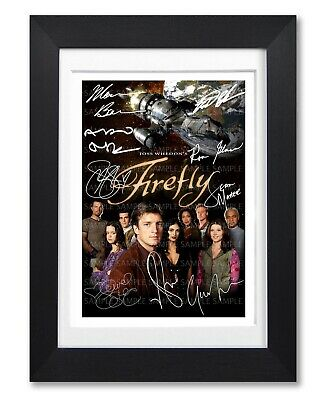 Firefly Cast Signed Poster Tv Show Series Season Print Photo Autograph Gift