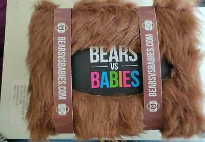 Bears vs Babies The Furry Monster Building Card Game By Exploding Kittens