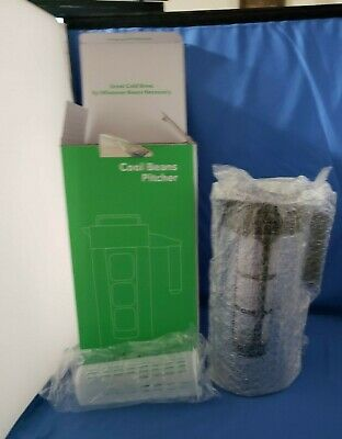 NIB-Cold Brew Iced Coffee Maker and Tea Infuser 1 Quart Cool Beans Pitcher