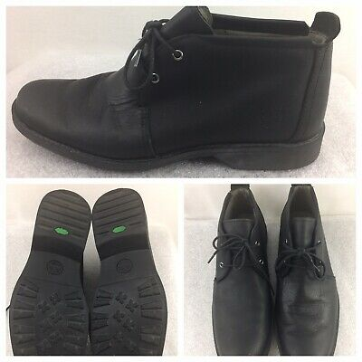 TIMBERLAND EARTHKEEPERS 5922R Men Black Leather Ankle Chukka