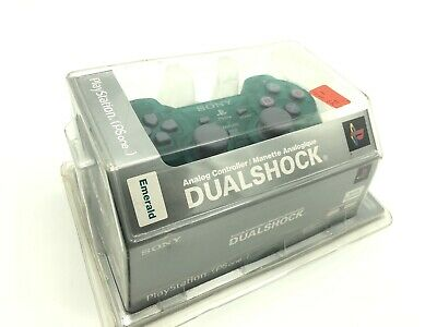 Playstation 1 Controller Emerald Dual Shock NEW SEALED
