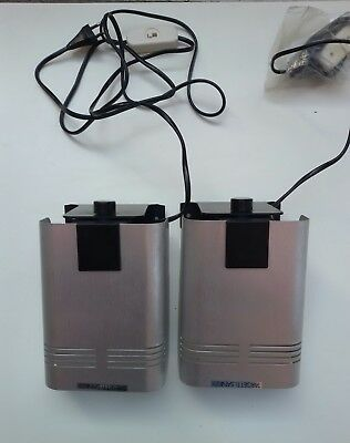TARGETTI SANKEY 2 LAMPADE PAIR WALL  SCONCES LAMPS VINTAGE SPACE AGE ANNI 1970s