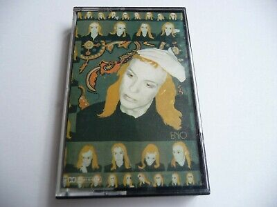 BRIAN ENO Taking Tiger Mountain By Strategy 1980's EG Cassette Reissue of 1974LP