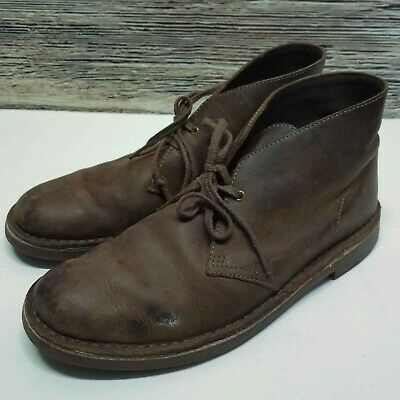 2b043534919 CLARKS ORIGINALS BUSHACRE Size 10.5 US M 34136 Brown Oiled Leather ...