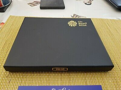 2010 Royal Mint 12 Coin Proof Set With Predecimal Medal