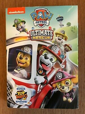 Paw Patrol- New Ultimate Rescue, Nickelodeon, Dvd Video