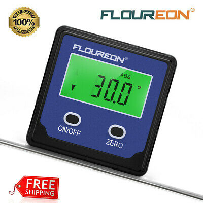 Digital LCD Digital Protractor Goniometer Angle Finder Miter Gauge Level 32-122℉