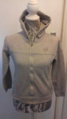 Girls La Gear Age 13 Years Grey Long Sleeved Hoodie Mint Condition