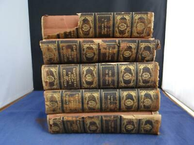 5 Vol. Messages and Papers of the Presidents 1905 Antique Hardback Books JR6006