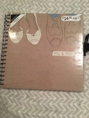 Boots Mr And Mrs Wedding Scrapbook New With Tags