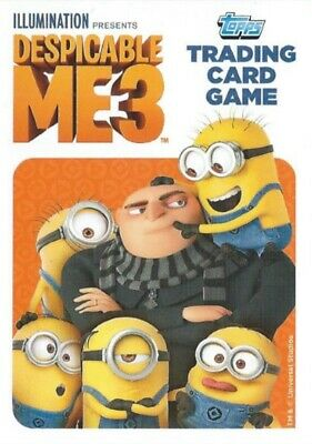 Topps DESPICABLE ME 3 single trading cards