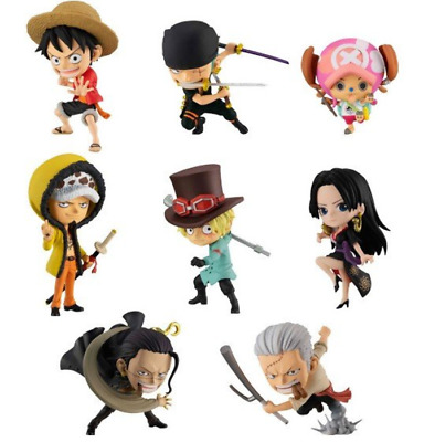 ONE PIECE ADVERGE MOTION - STAMPEDE -  8tyep set Japan import NEW ONEPIECE
