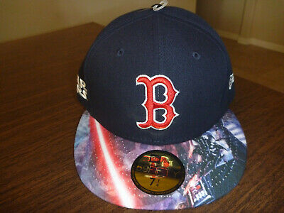 huge discount 16cce 16459 Boston Red Sox New Era 59Fifty Star Wars Darth Vader Navy Fitted Hat Size 7  1