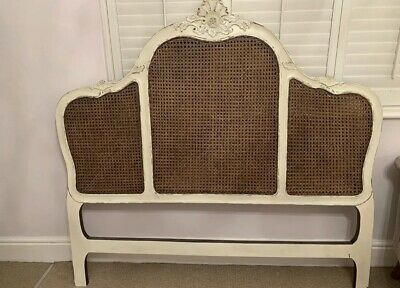Beautiful French Sweetheart Antique King Size headboard