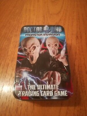 Doctor who monster invasion cards. Approximately 350 cards joblot. Foil cards