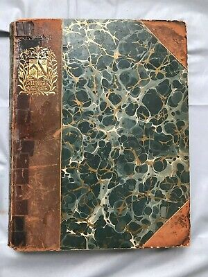 1893 Wadham College Oxford By T G Jackson Rare Limited Ed #283 Foldout Plates