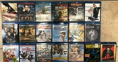 Blu-rays!!! COMBINED SHIPPING GREAT SELECTION POPULAR MOVIES DVD BLURAY Lot