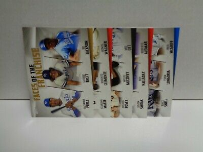 2019 Topps Series 2 Faces Of The Franchise Trios Pick Your Team $0.99