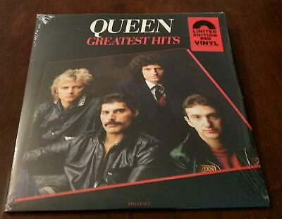 "Queen ""Greatest Hits"" Limited Edition Red Vinyl LP - EU 2019 - Sealed"