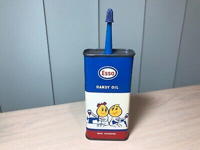 VINTAGE 1960s ESSO HANDY OIL CAN