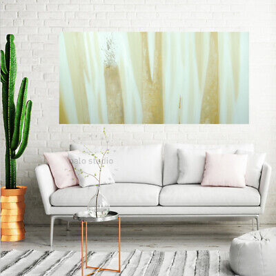 *Beach* Hand Painted Stretched Canvas Oil Painting Wall Art Home Decor Framed
