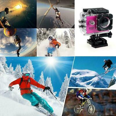 4k Full HD Sports Action Camera Waterproof Diving DVR Camcorder Riding Outd Y7V9