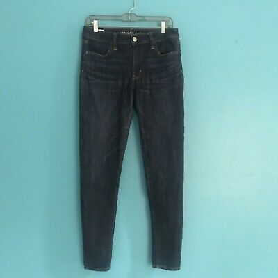 022d55c5ce962 American Eagle Next Level Stretch Hi Rise Jegging Denim Jeans Women's Sz 8