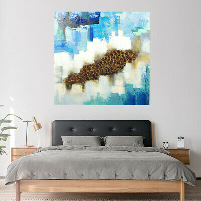 Wall Decorate Abstract Art Canvas Oil Painting Hand Painted : Kylin (Framed)