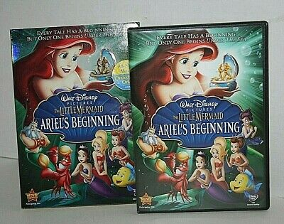 Disney The Little Mermaid Ariel's Beginning 2008 Region 1 One DVD Great Shape