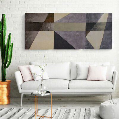 Hand Painted Oil Painting - Geometric Pattern| Abstract Wall Art Decor Framed