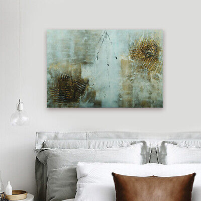 Hand Painted Wall Decoration Modern Abstract Oil Painting On Canvas Framed