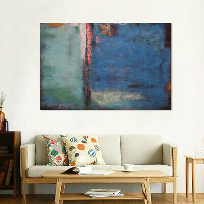 Modern Wall Art Home Decor Abstract Manual Oil Painting Stretched Canvas Framed