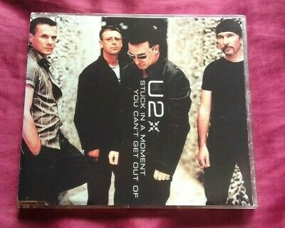 U2 - Stuck In A Moment You Can't Get Out Of - Cd Single