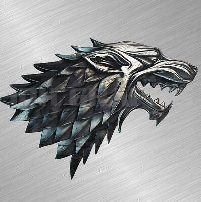 Laptop # 1033 House of Stark Game of Throne Decal Sticker for Car Window