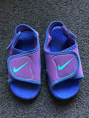 Nike Sandals Swimming Shoes Girls Size US8C
