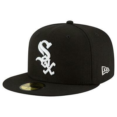 quality design b6b04 e73ec Chicago White Sox New Era MLB AC On-Field 59FIFTY Fitted Hat - Black