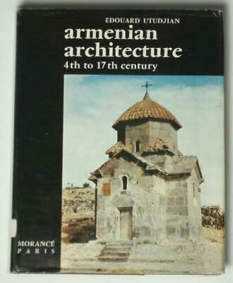 Armenian Architecture medieval church Gothic ancient city stone sculpture BOOK
