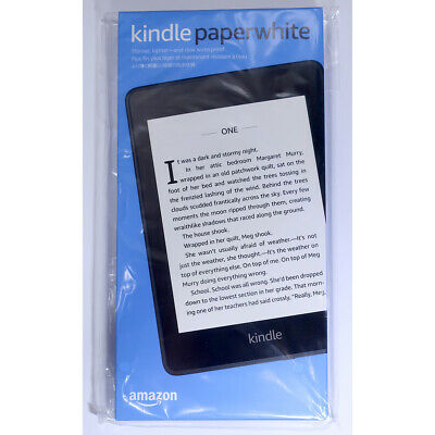 [Brand new] Amazon Kindle Paperwhite 4 8GB (10th Generation 2018) eBook Reader