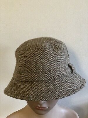 Glenn Appin of Scotland - Made In Great Britain Wool Tweed - Bucket Hat - Large