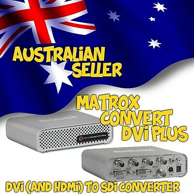 Matrox Convert DVI Plus (connect and scale monitor output to video mixer)