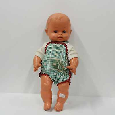 Regal Toy Rubber Plastic Squeaking Baby Doll Made In Canada #710